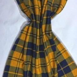 T-Shirting Fabric Mc Ryan Tartan mustard