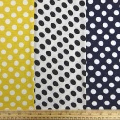 T-Shirting Fabric Hotty Spotty