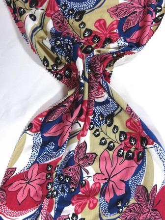 T-Shirting Fabric Nadia Garden pink