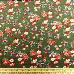 T-Shirting Fabric Sophie Rose Khaki