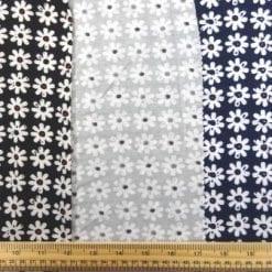 T-Shirting Fabric Gerbera Row