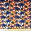 T-Shirting Fabric Sentosa Island Cream/Blue