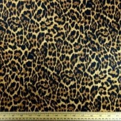 Scuba Jersey Fabric Another Leopard