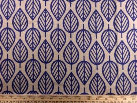 Cotton Brushed Fabric Fig Leaf