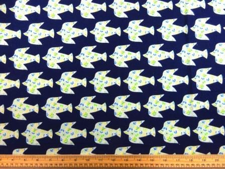 Cotton Brushed Fabric Greek Dove