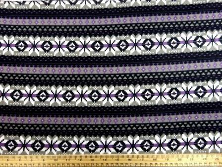 Winter Jersey Fabric Ski Jumper grey