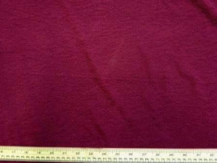 Jersey Fabric Bubble Crepe wine