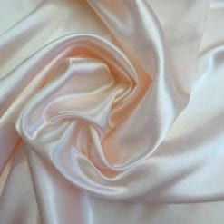 Silky Satin Fabric Code J Blush Pink