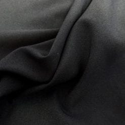 Suiting Fabric 4 Way Stretch Black