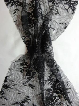 Lingerie Lace Fabric Saucy Delila black