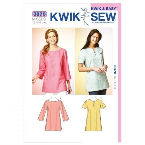 Kwik Sew Sewing Pattern 3870