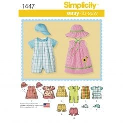 Simplicity Children's Sewing Pattern 1447