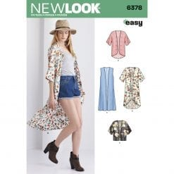 New Look Sewing Pattern 6378