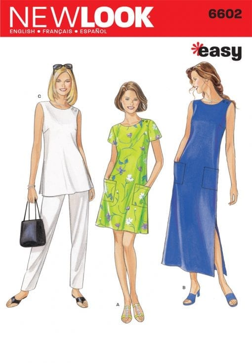 New Look Sewing Pattern 6602