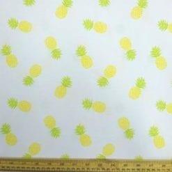 T-shirting Fabric Pineapple Fun