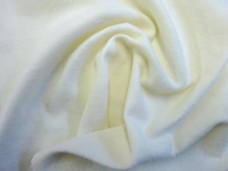 Winceyette Brushed Cotton Fabric cream