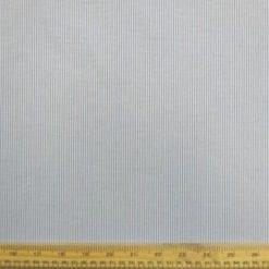 Poly Cotton Fabric Grandad Shirt Stripe