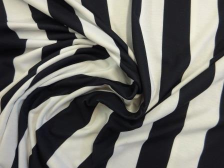 T-Shirting Fabric Beetle Stripe