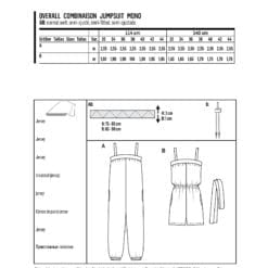 Burda Sewing Pattern 6318
