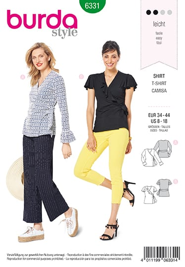 Burda Sewing Pattern 6331