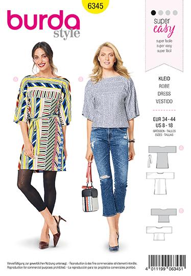 Burda Sewing Pattern 6345
