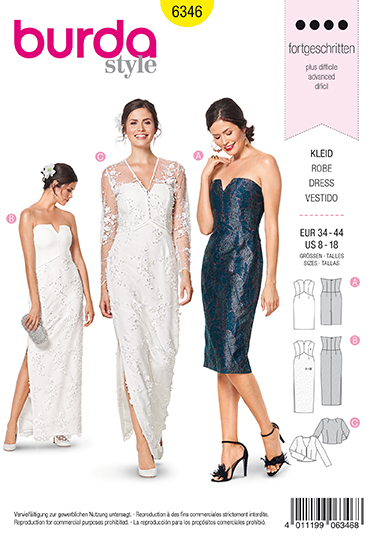 Burda Sewing Pattern 6346