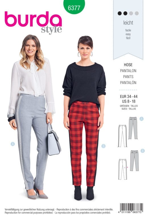 Burda Sewing Pattern 6377
