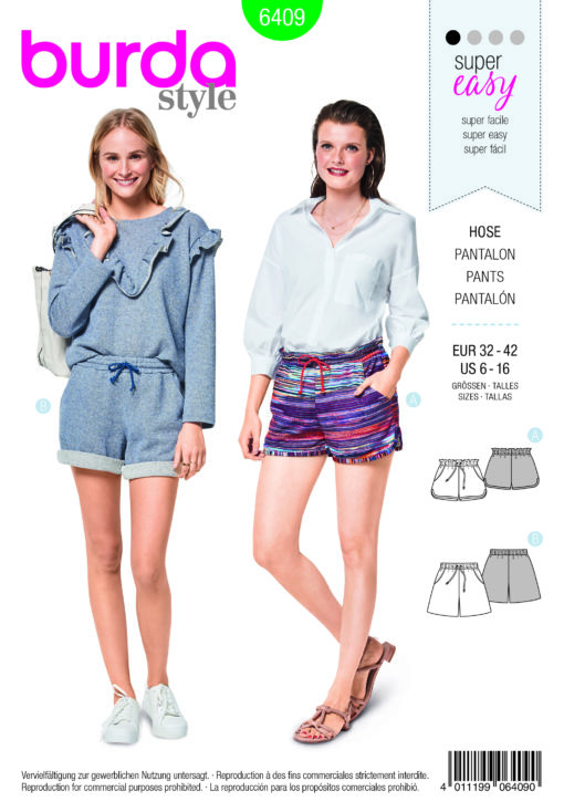 Burda Sewing Pattern 6409