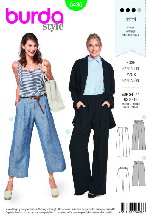 Burda Sewing Pattern 6436