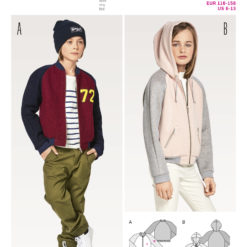 childrens jacket sewing pattern