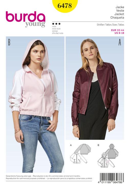 Burda Sewing Pattern 6478
