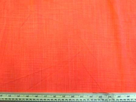 Linen Look Fabric Drape bright orange