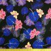 Crepe De Chine Fabric Ultra Violet Fan