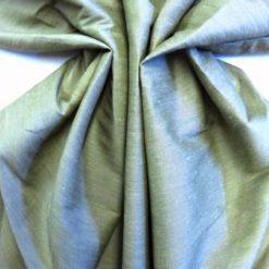 Suiting Fabric Faux Silk Khaki