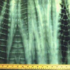 Stretch Cotton Fabric Olive Branch Tie Dye