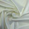Stretch Satin Fabric Heavy Italian Bengaline White