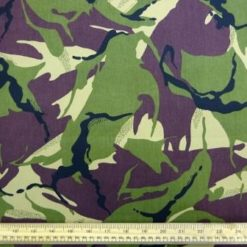 Camouflage Fabric Army Twill
