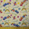 Cotton Canvas Fabric Unicorns