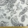 Cotton Canvas Fabric Colour Me Paisley