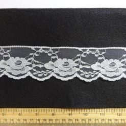 Lace Trimming 503 White
