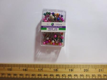 Pin Pots Colour Headed