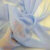 pale blue chiffon