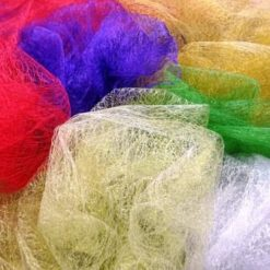 Net Fabric Spider Web Tulle