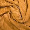 Jersey Fabric Concertina Pleating gold