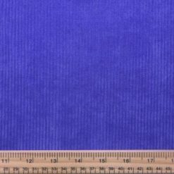 Corduroy Fabric Buttersoft 8 Whale Cord royal