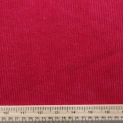 Corduroy Fabric Buttersoft 8 Whale Cord red