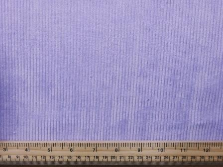 Corduroy Fabric Buttersoft 8 Whale Cord lavender