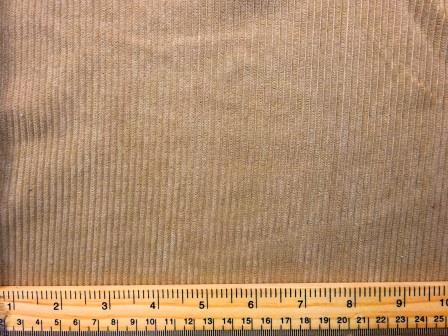 Corduroy Fabric Buttersoft 8 Whale Cord beige