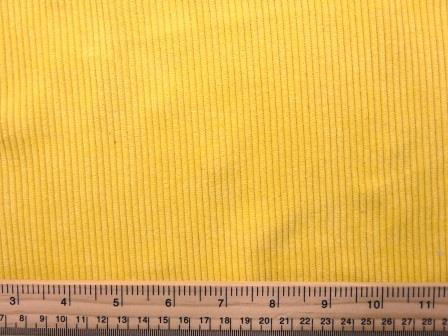 Corduroy Fabric Buttersoft 8 Whale Cord yellow