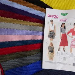 Corduroy Skirt Sewing Kit